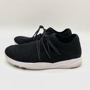 Vessi Waterproof Cityscape Knit Sneaker Storm Black